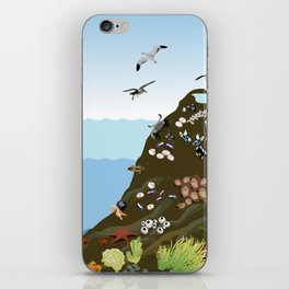 Southern California Tide Pool Explorer's Guide iPhone Skin