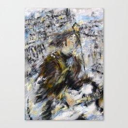 Nowhere man Canvas Print