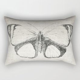 Butterfly Quote - The Little Prince Rectangular Pillow