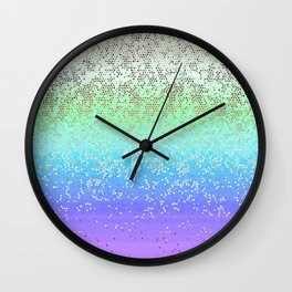 Glitter Star Dust G242 Wall Clock