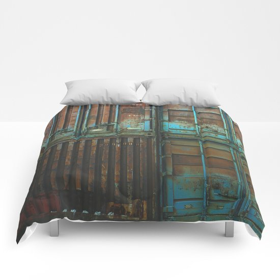 Container rouille 5 Comforters