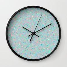 Opalescent Wall Clock