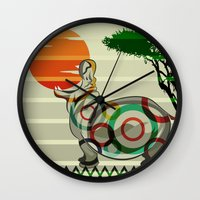 dreamer Wall Clocks featuring Dreamer by milanova