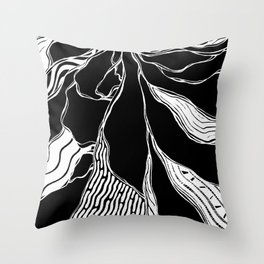 Winding Roots Throw Pillow