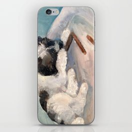 Puppy Delight iPhone Skin
