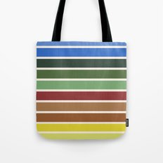 The colors of - Castle in the sky Tote Bag