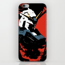 Gundam Rx-93 headbust iPhone Skin