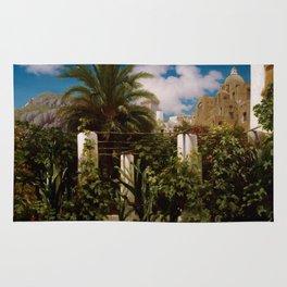 """Frederic Leighton """"Garden of an Inn, Capri"""" Rug"""