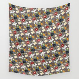 School of Magic - Large Pattern Wall Tapestry
