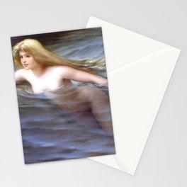 "Luis Ricardo Falero ""Sea nymph or Nymphe"" Stationery Cards"