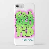 fresh prince iPhone & iPod Cases featuring Fresh Prince by DeMoose_Art