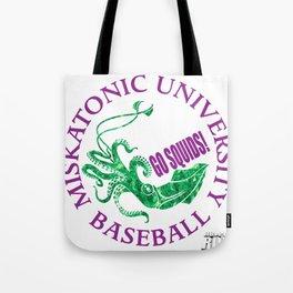 Miskatonic University Baseball Team Tote Bag