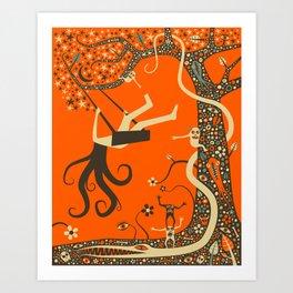 OUTCAST Art Print