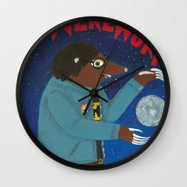 The Werewurf Wall Clock