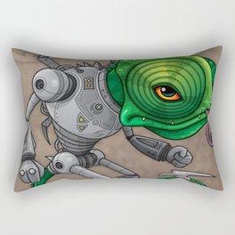 Chameleozoid Rectangular Pillow