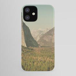 Yosemite Valley XI iPhone Case