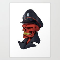 Red or Dead Art Print