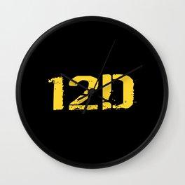 12D Diver Wall Clock