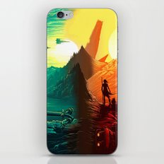 Warriors iPhone & iPod Skin