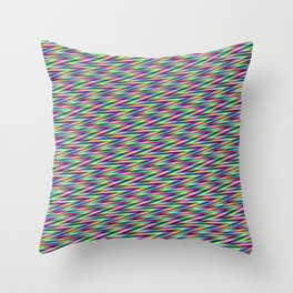 zig and zag Throw Pillow