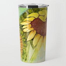 Sleepytime Sunflowers Travel Mug