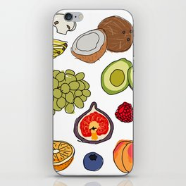 Fruits iPhone Skin