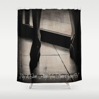 casablanca Shower Curtains featuring Casablanca by Ginevra