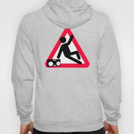 Caution: Breaking hazard Hoody