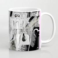milan Mugs featuring >>> MILAN MIX  by Olive Primo Design + Illustration