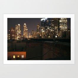 Rooftop Classic Art Print