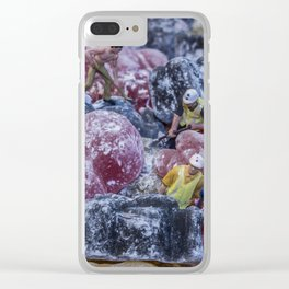 Sugar Mountain Mining Company Clear iPhone Case