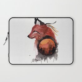 Tetrad the Bloodmoon Fox Laptop Sleeve