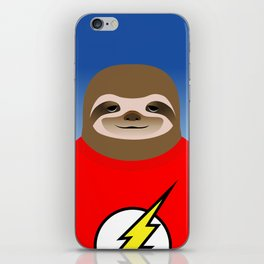 A SLOTH NAMED FLASH iPhone Skin