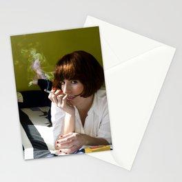 Mia, Pulp Fiction Stationery Cards