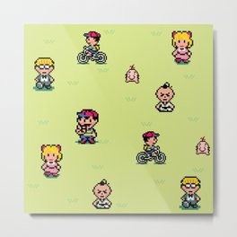 Earthbound - Mother 2 Metal Print
