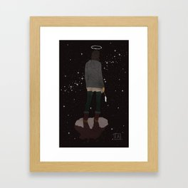 Static Aspiration Framed Art Print