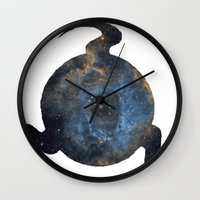 homestuck Wall Clocks featuring Mind by Darkerin Drachen