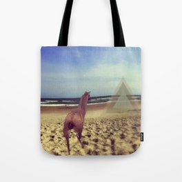 Ethereal Llama Tote Bag