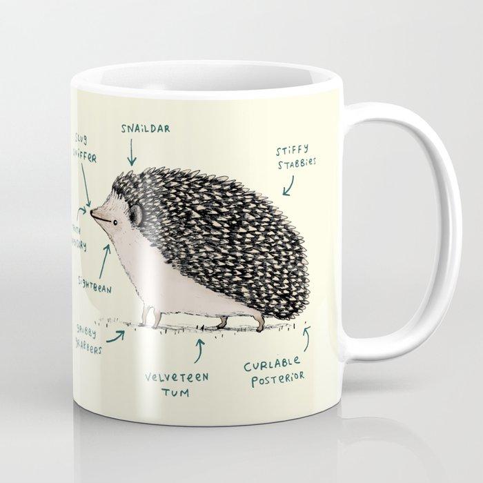 Anatomy of a Hedgehog Coffee Mug