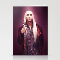 thranduil Stationery Cards featuring Thranduil by tillieke