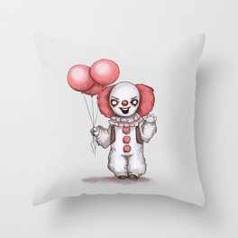 They All Float Down Here Throw Pillow