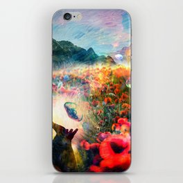 The Poppy is also a flower iPhone Skin