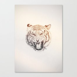 Timmy the Tiger Canvas Print