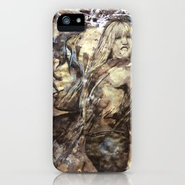 Kate by carographic, Carolyn Mielke iPhone Case