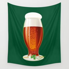 Beer. Happy St. Patrick's Day! Wall Tapestry