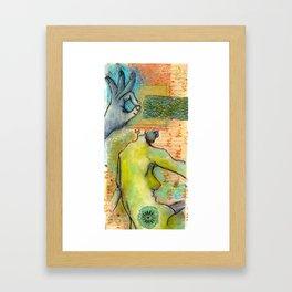 Wisdom In the Dream Framed Art Print