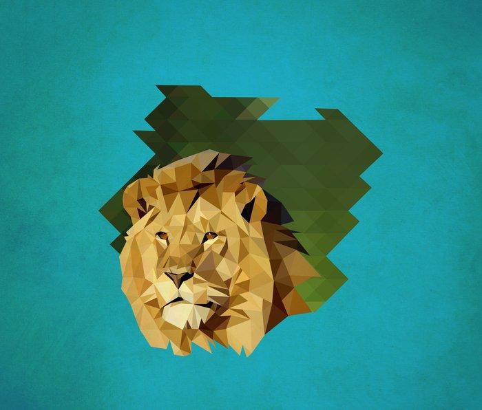 lion Metal Travel Mug