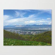 Salt Lake City Canvas Print