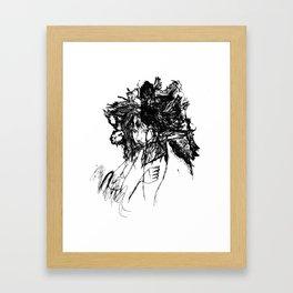 FlightMinded B&W Framed Art Print