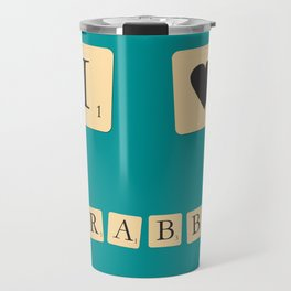 I heart Scrabble Travel Mug